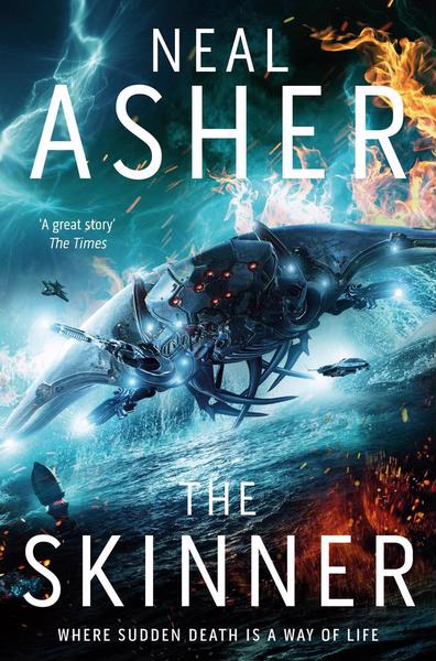 neal asher the skinner